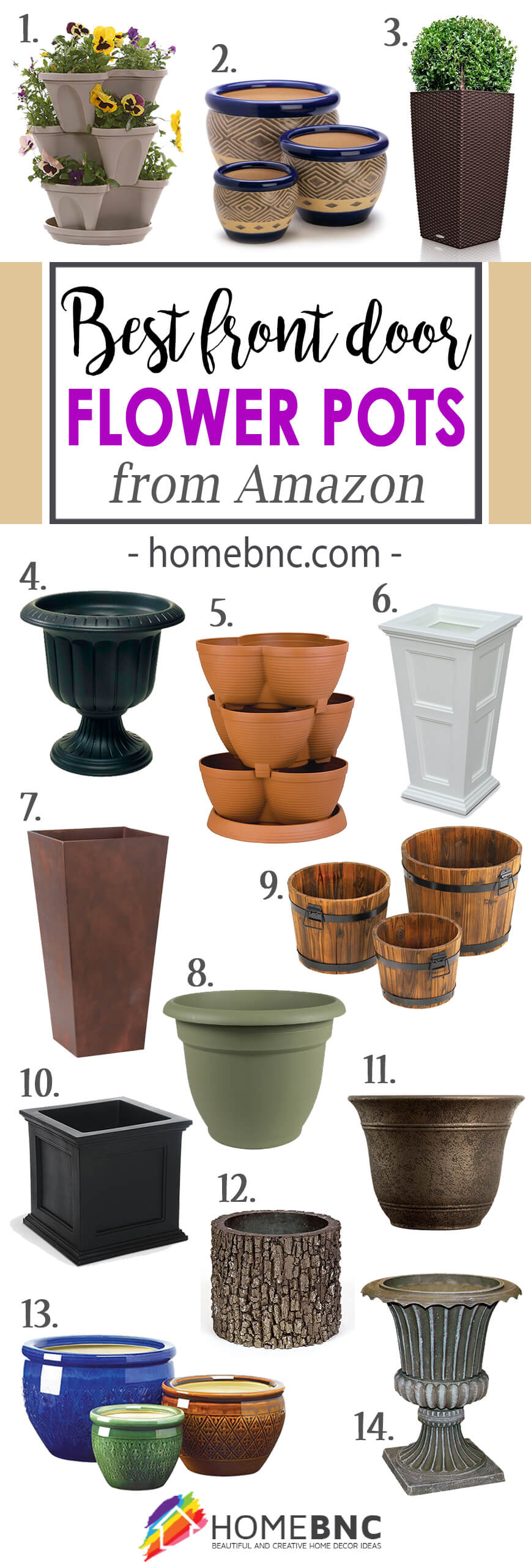 Best Flower Pots from Amazon