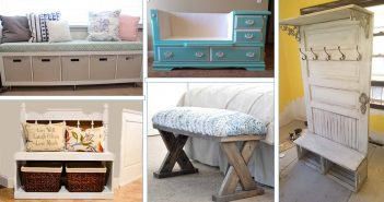 DIY Entryway Bench Projects