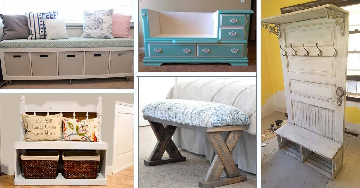25 Best Diy Entryway Bench Projects Ideas And Designs For 2020