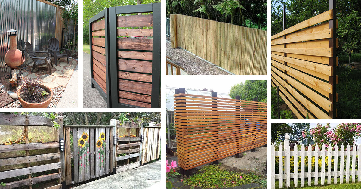 Do It Yourself Home Design: 24 Best DIY Fence Decor Ideas And Designs For 2017