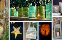 DIY Garden Lantern Ideas