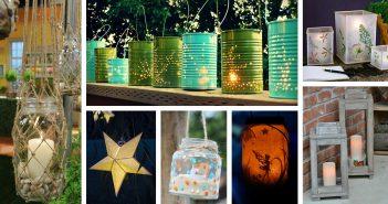 DIY Garden Lantern Ideas