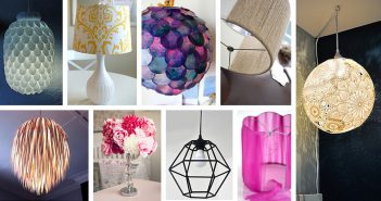 DIY Lamp Shade Decoration Ideas