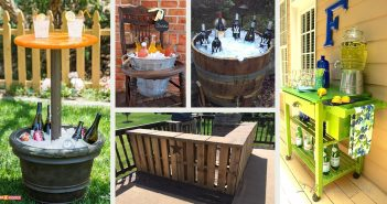 DIY Outdoor Bar Ideas
