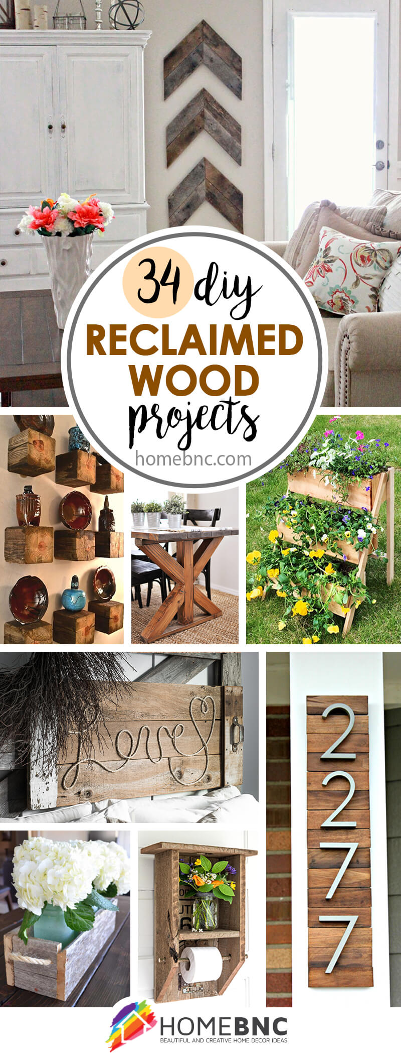DIY Reclaimed Wood Ideas 34 DIY Reclaimed
