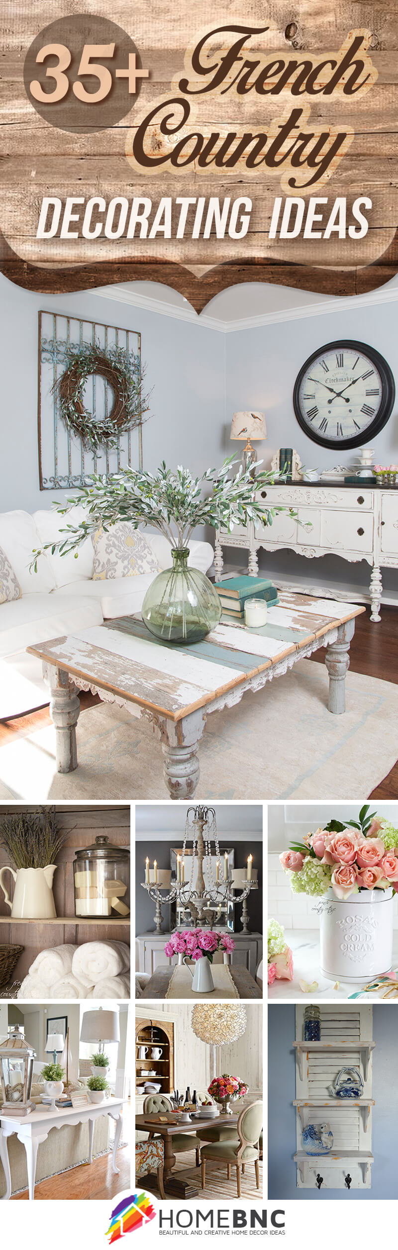 35 Inspiring French Country Decor Ideas For Every Budget