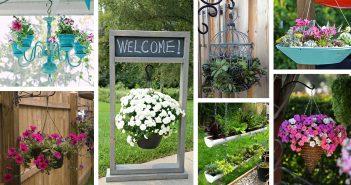Outdoor Hanging Planter Ideas