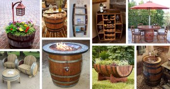 Reusing Old Wine Barrel Ideas