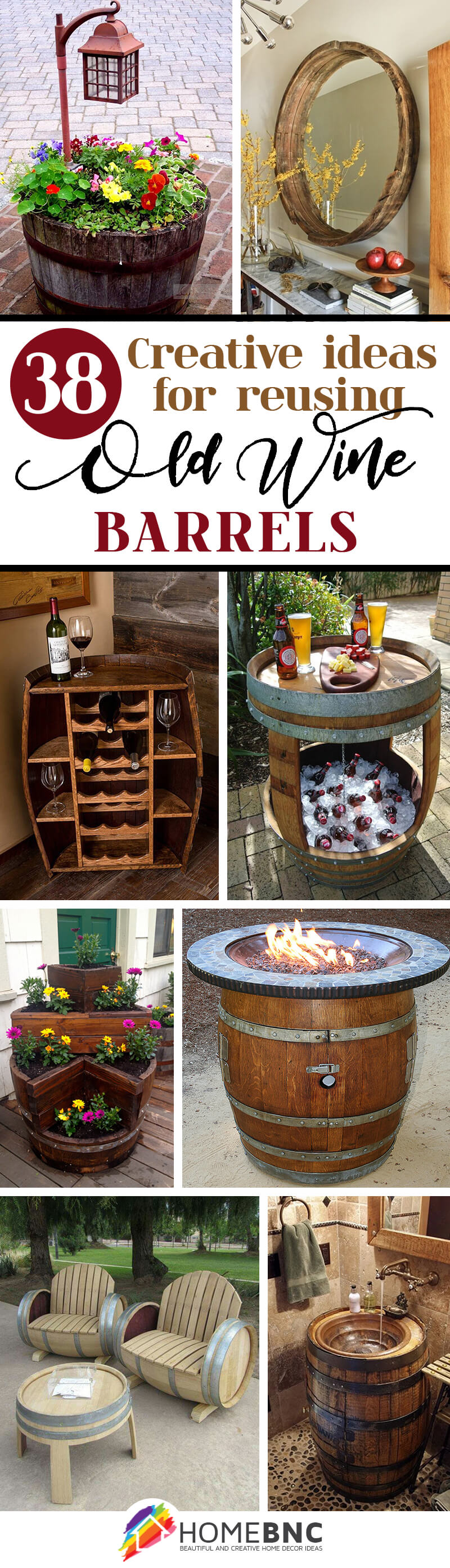Reusing Old Wine Barrels