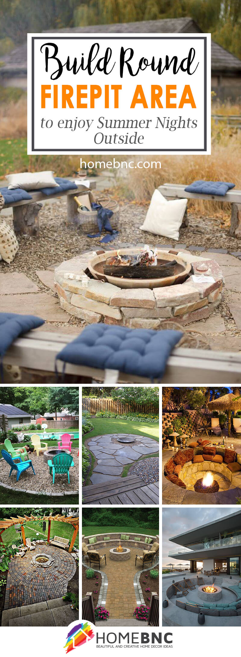 Round Firepit Area Ideas And Designs