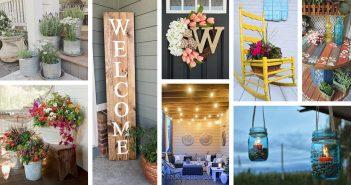 Summer Porch Decor Ideas