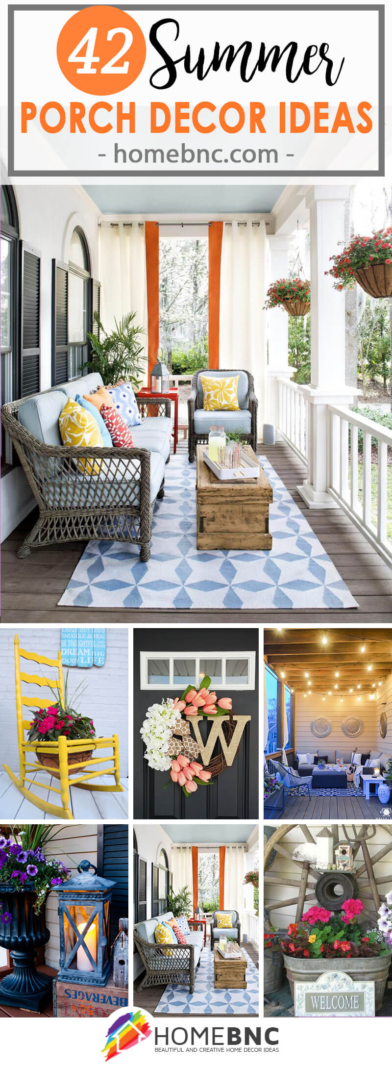 Summer Porch Decorations