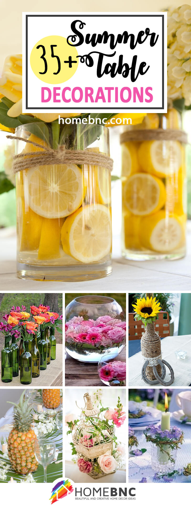 Summer Table Decoration Ideas