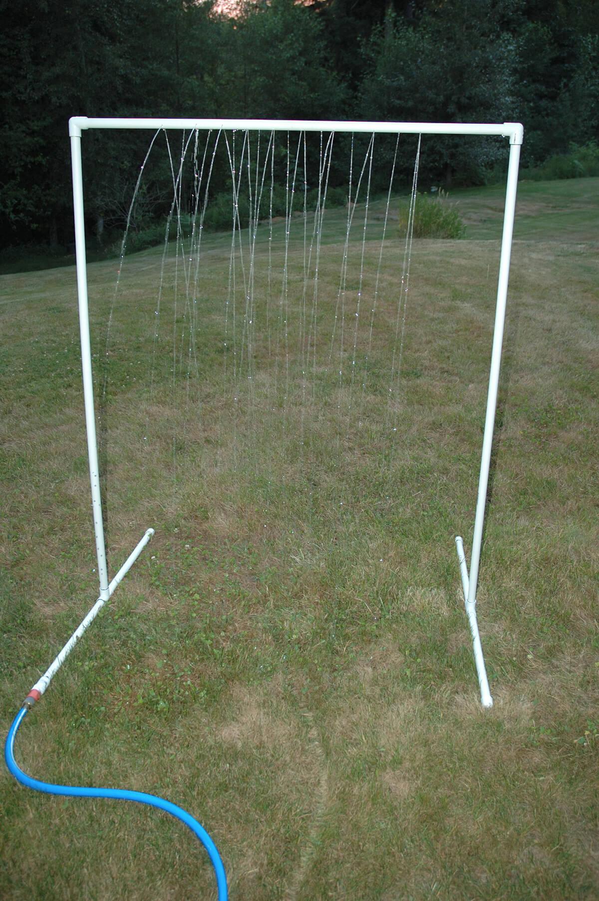 Freestanding Rain Curtain Sprinkler