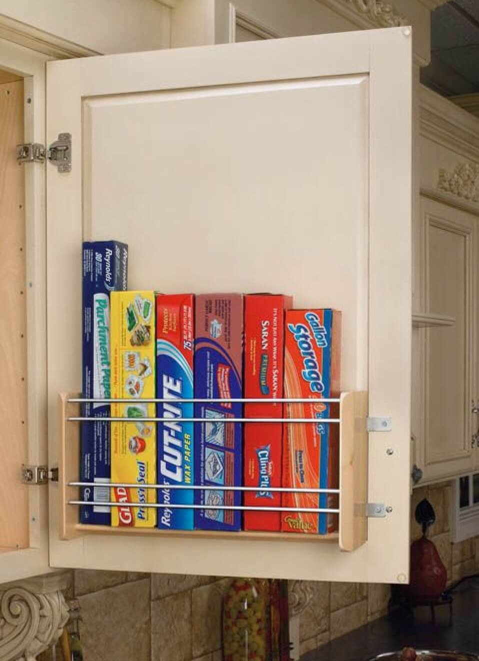 1. Door Attachment For Food Storage Necessities