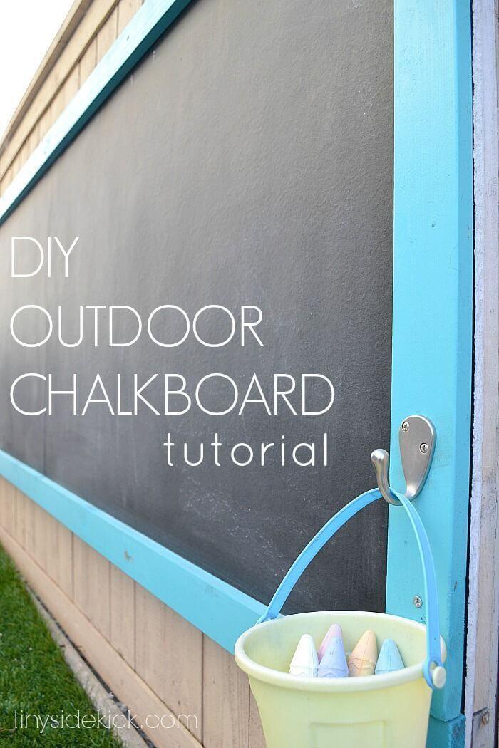 34 fantastische DIY-Hinterhof-Ideen für Kinder, die einfach zu machen sind