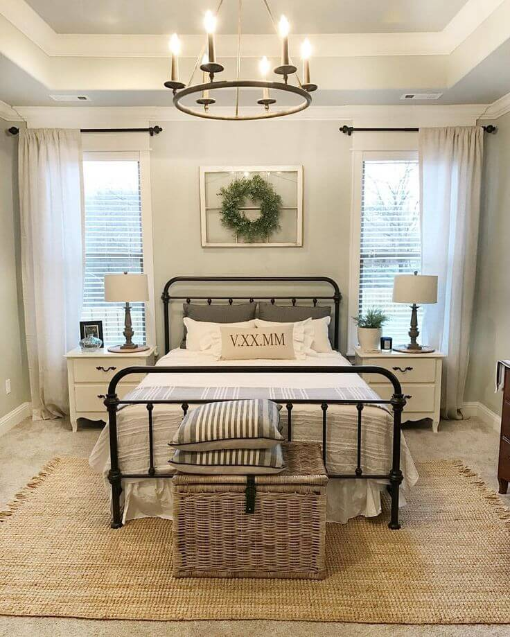 Farmhouse Safari Fusion Bedroom39 Best Farmhouse Bedroom Design and Decor Ideas for 2017. Farmhouse Bedroom. Home Design Ideas