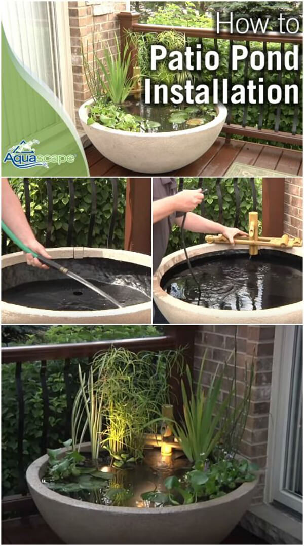18 best diy backyard pond ideas and designs for 2017 for Cour exterieur zen