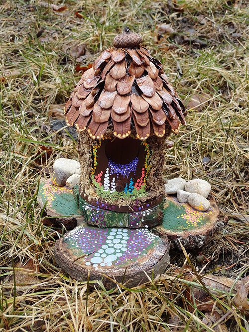 Woodland Retreat Fairy Cabin