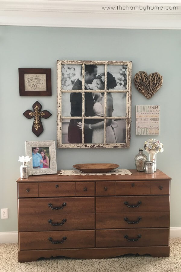 Window Into Love Antiquated Picture Frame