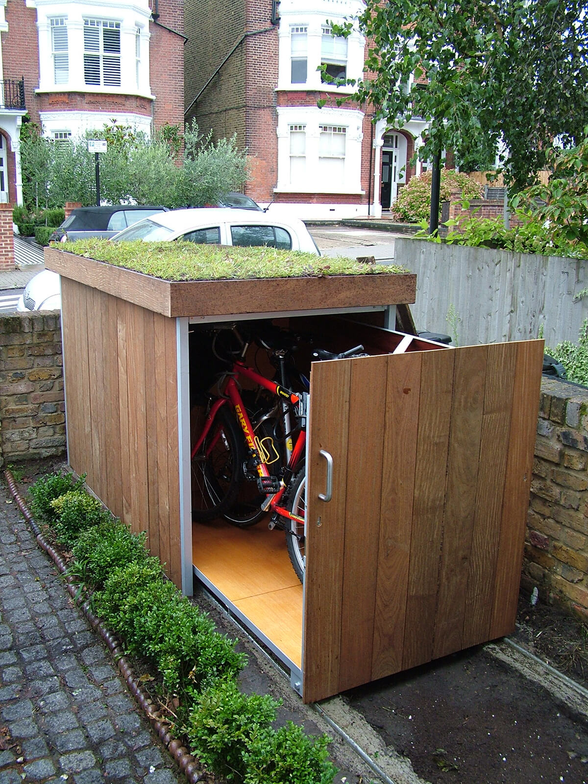 a hideaway storage space for smaller objects - Garden Sheds Small