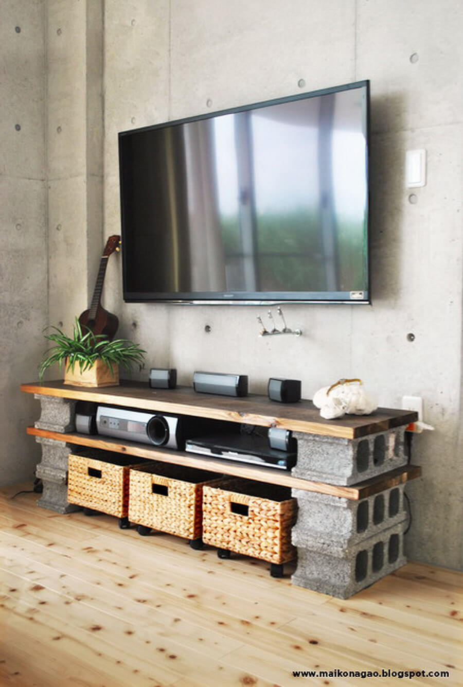 Design Cinder Block Table 28 best ways to use cinder blocks ideas and designs for 2017 solid sturdy block entertainment table