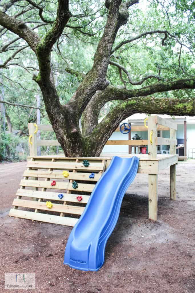 Platform Tree House Playground Fun