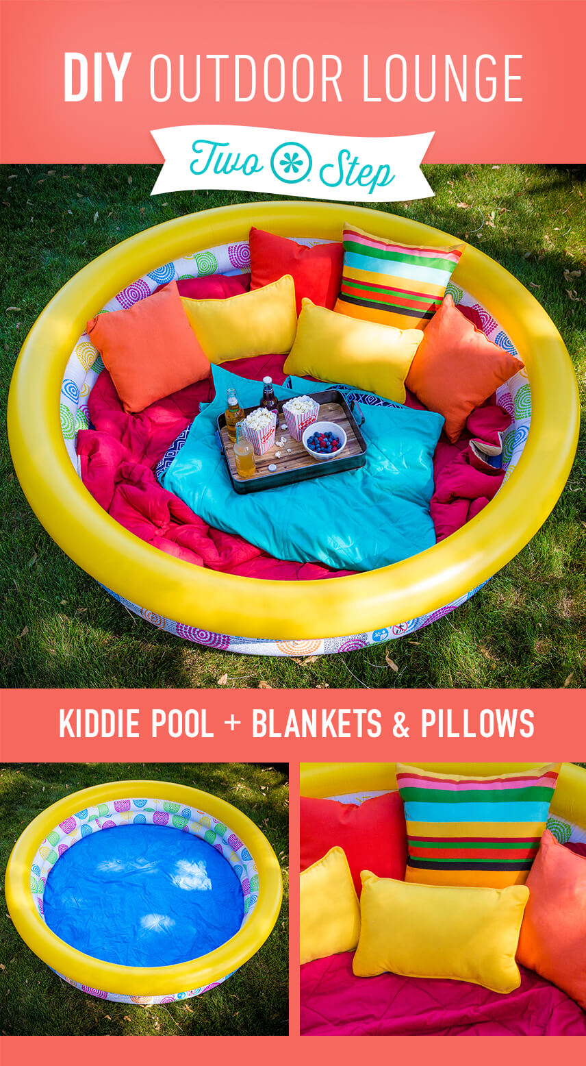 34 best diy backyard ideas and designs for kids in 2018 snack time in a comfortable outdoor lounge diy solutioingenieria Image collections