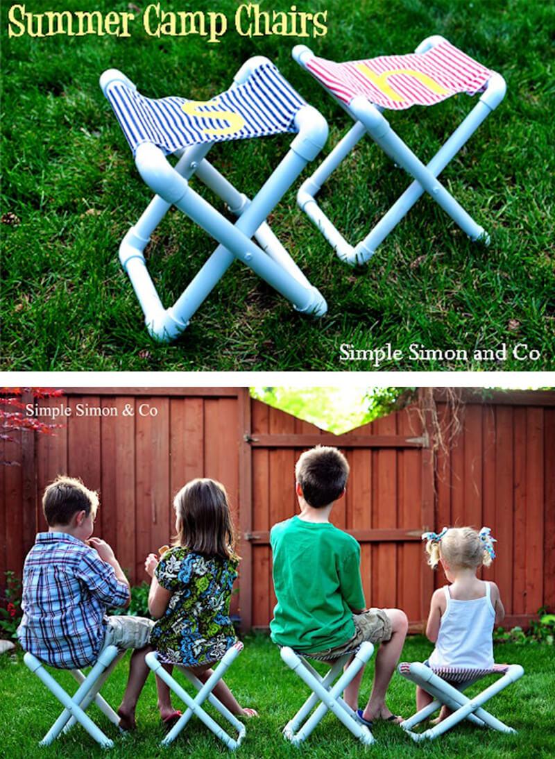Summer Fun Custom PVC Camp Chairs