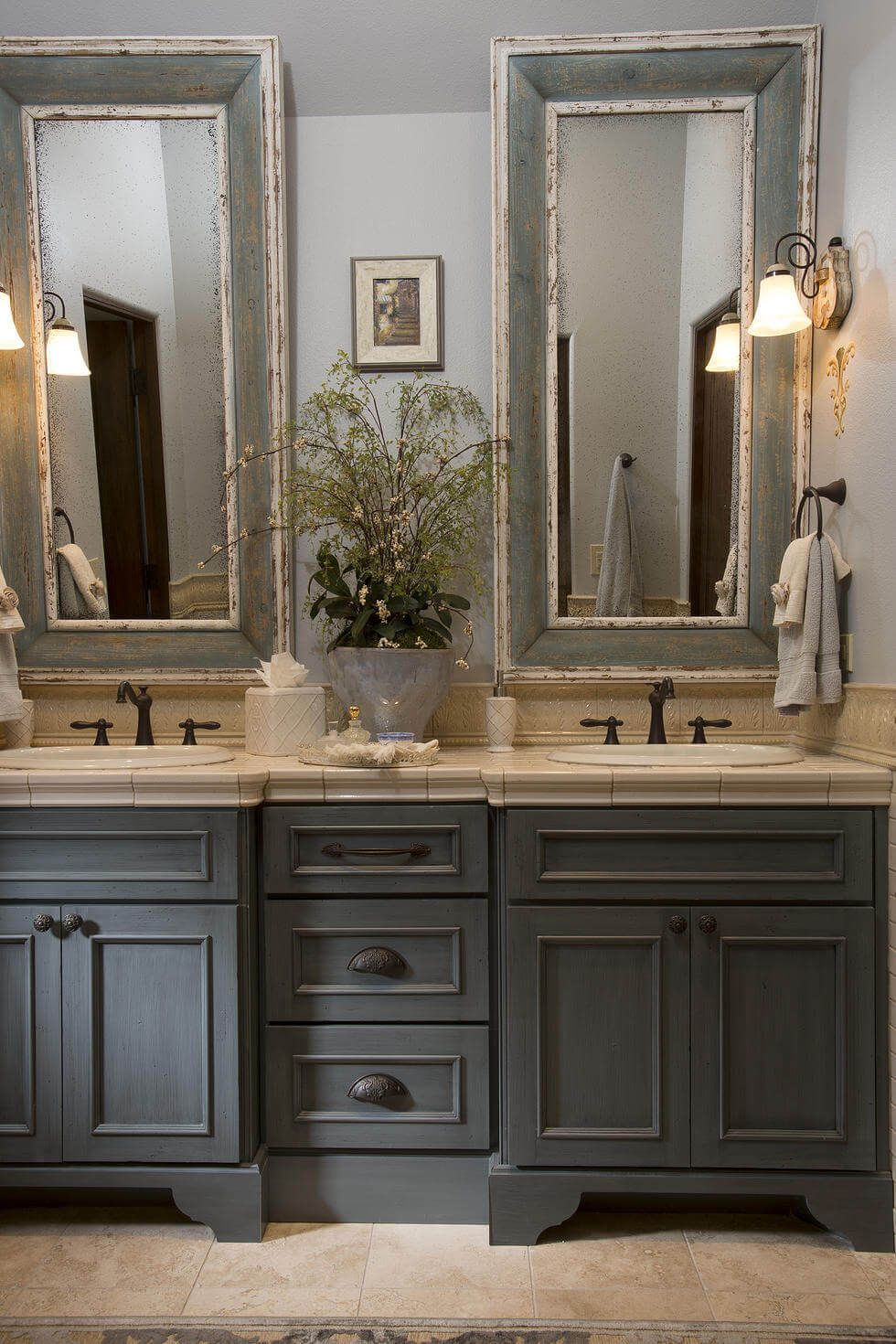 Rustic modern master bathroom interior design - Master bathroom design and interior guide ...