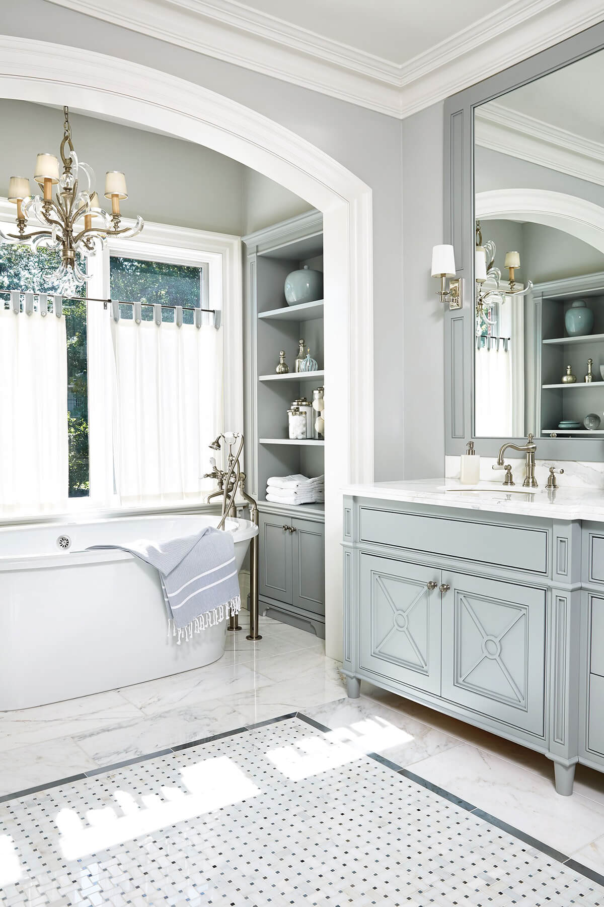 32 best master bathroom ideas and designs for 2018 for Master bathroom 2018