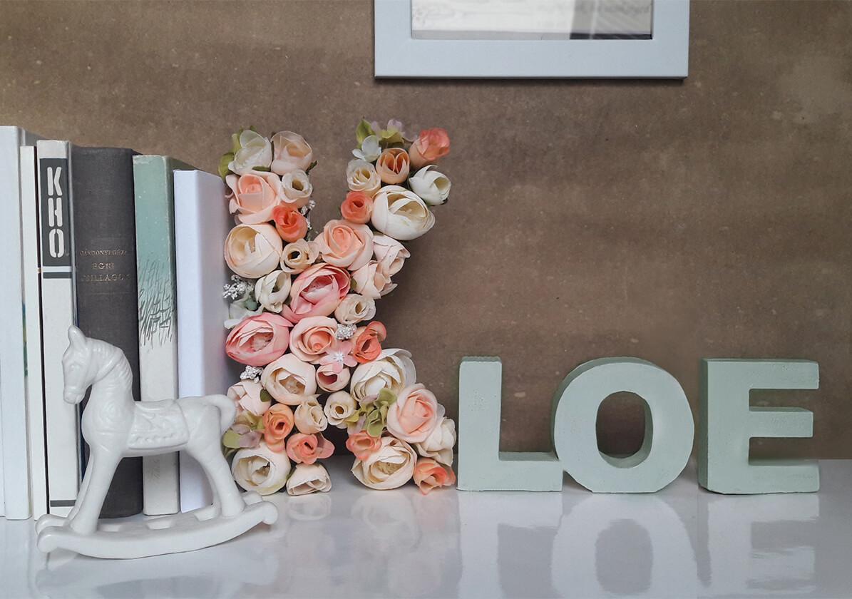 Blooming DIY Monogram Tutorial