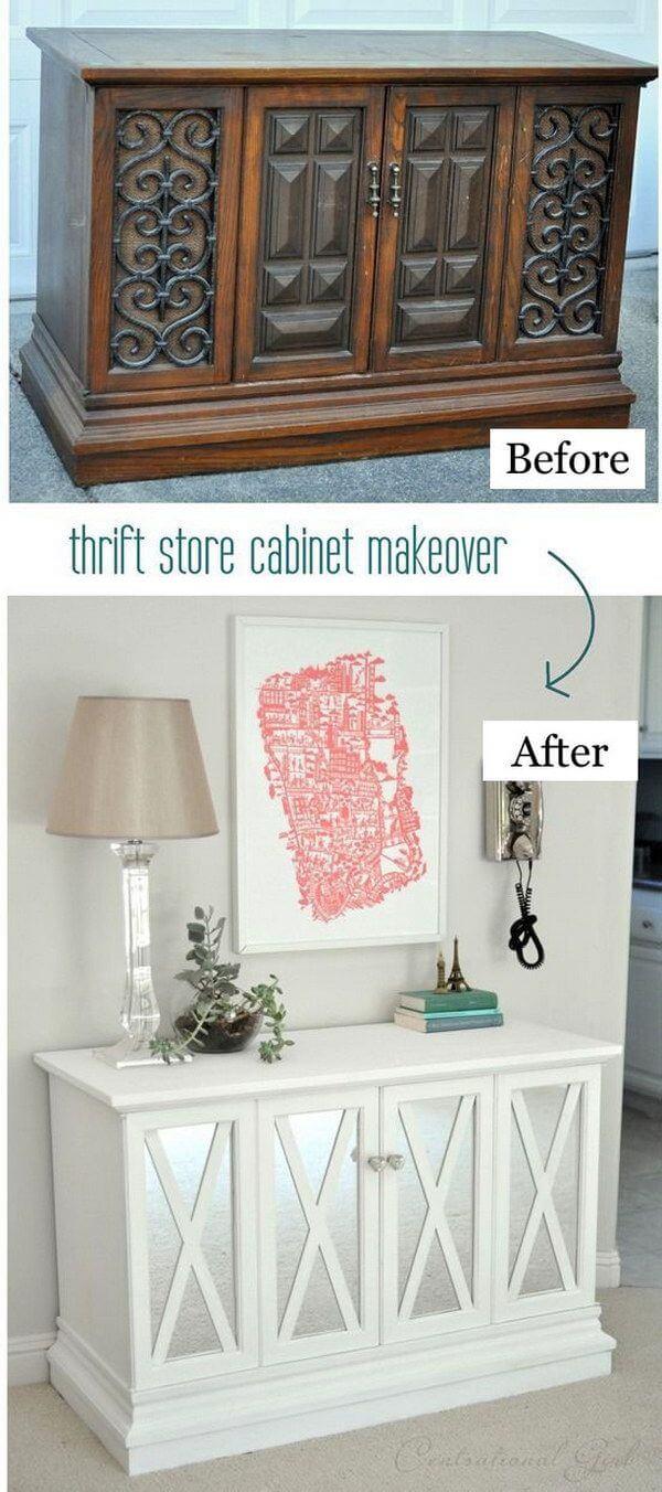 Thrift Store Splendor Updated Cabinet