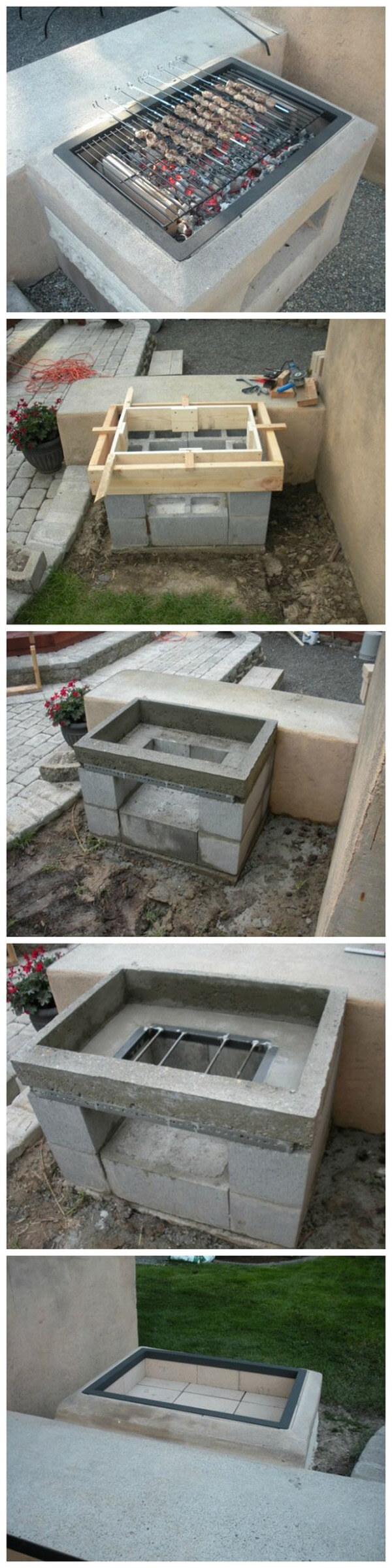 28 Best Ways To Use Cinder Blocks Ideas And Designs For 2021