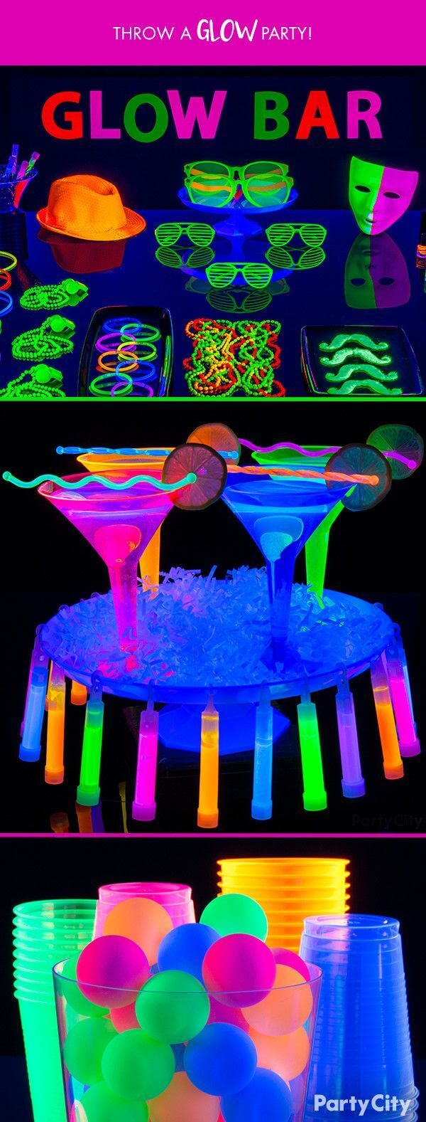 Glam up Your Bar with Glowing Cups and Glasses