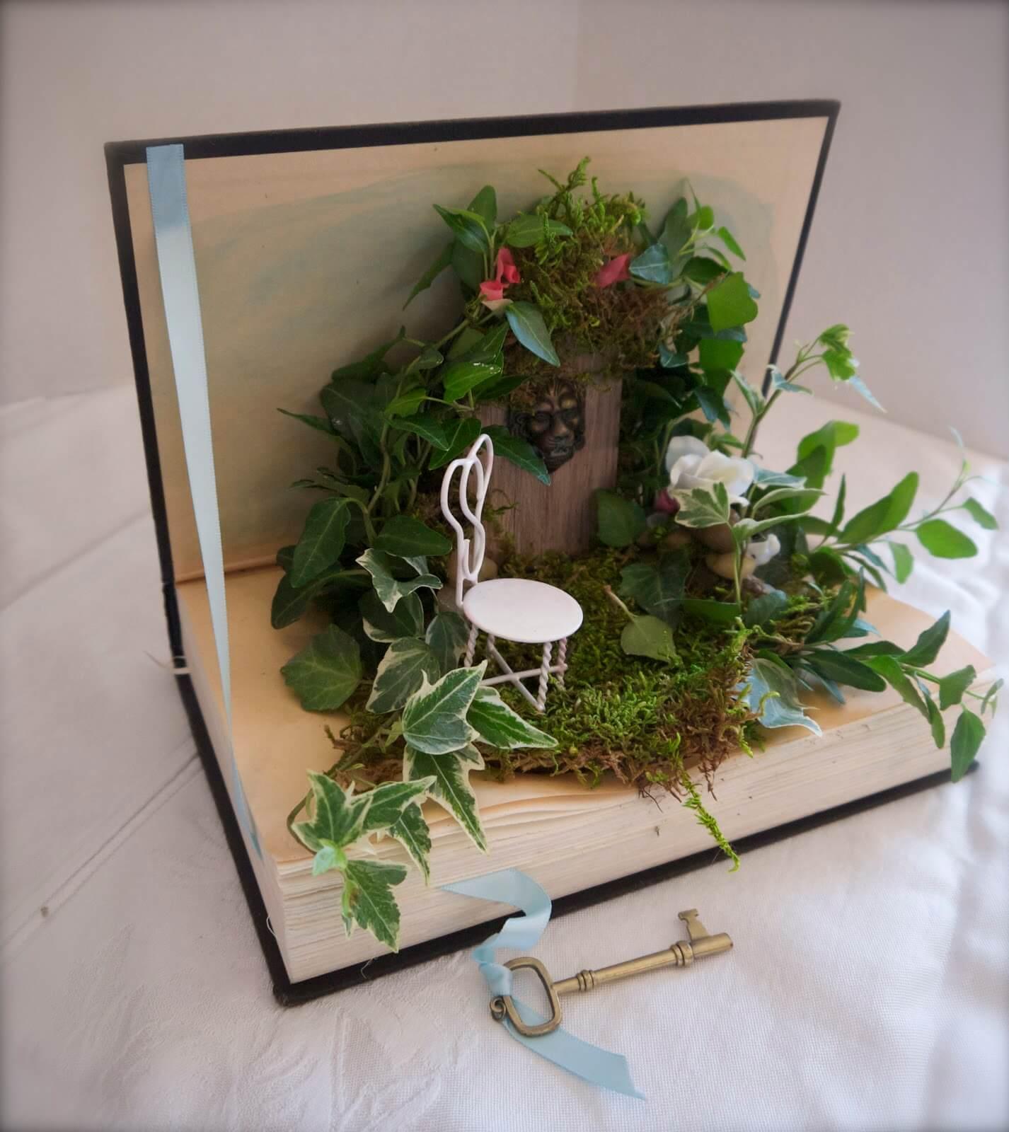 Secret Garden in a Book