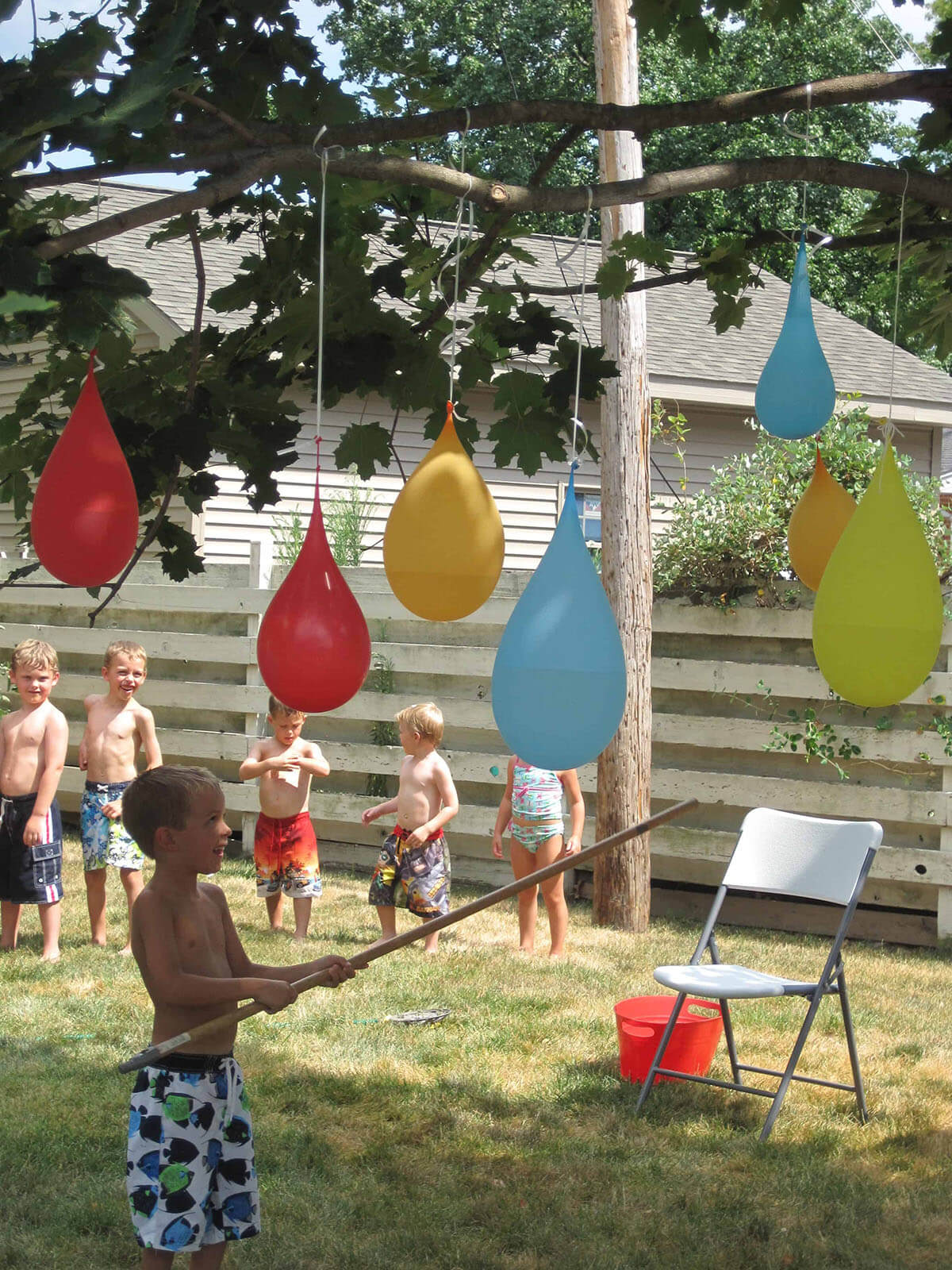 Colorful Water Balloon Piñata Collection