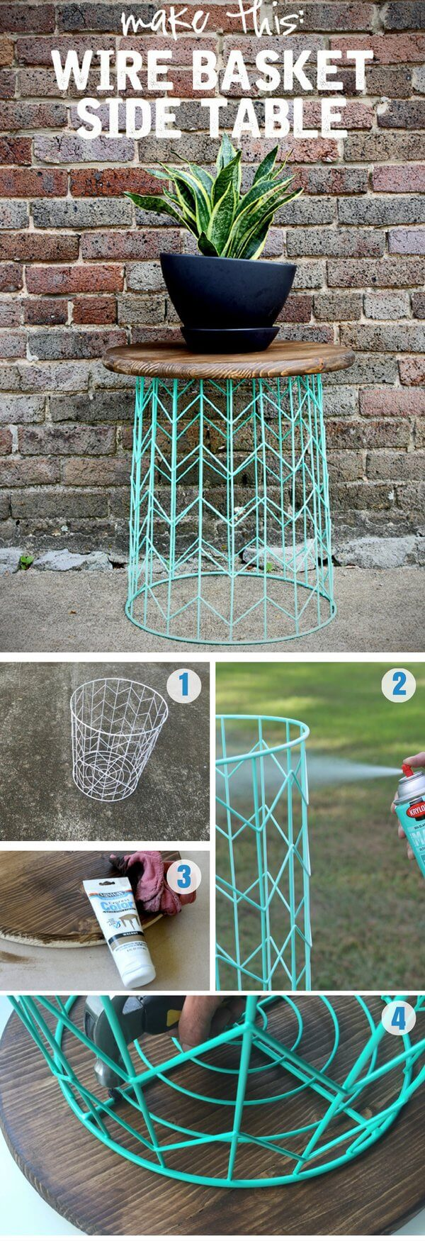 29 best diy outdoor furniture projects ideas and designs for Outdoor decorating hacks