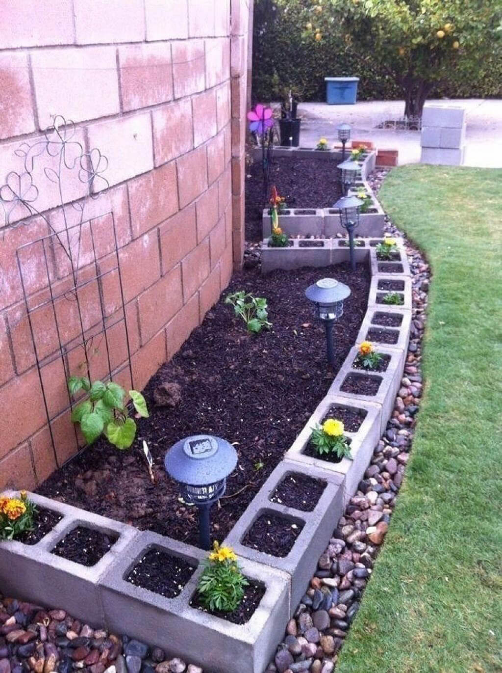 28 best ways to use cinder blocks ideas and designs for 2017 - Cinder block garden uses ...
