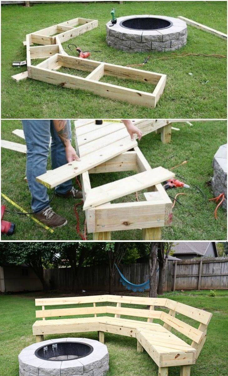 15 Amazing DIY Outdoor Furniture Ideas - Perfect Weekend ... |Outdoor Diy Ideas