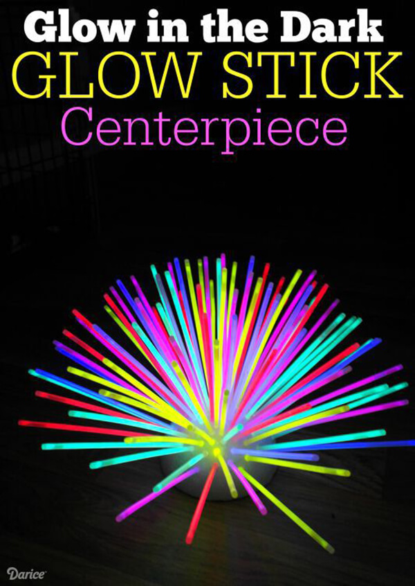 Glow Stick Décor: the Options are Endless