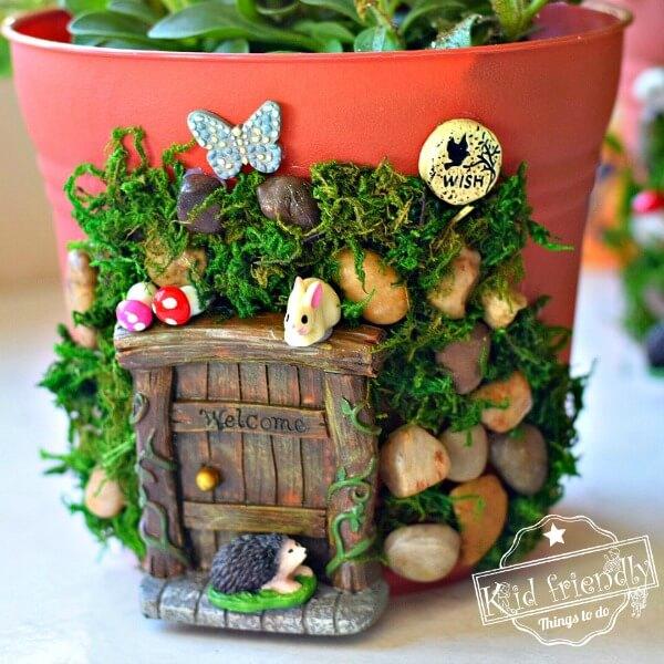 Fairy Garden with Animal Friends