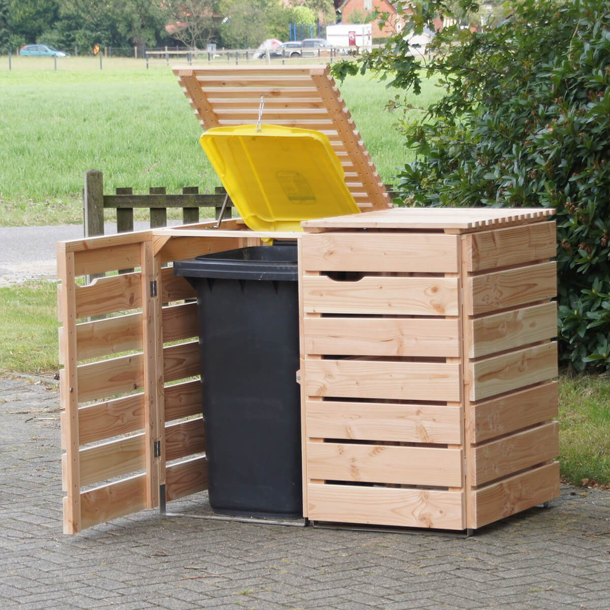 Storage to Keep Your Garbage Undercover