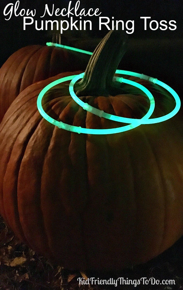 Give Ring Toss a Facelift with Glow Sticks