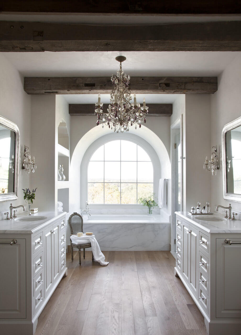 Romantic Getaway Inspired Bathroom