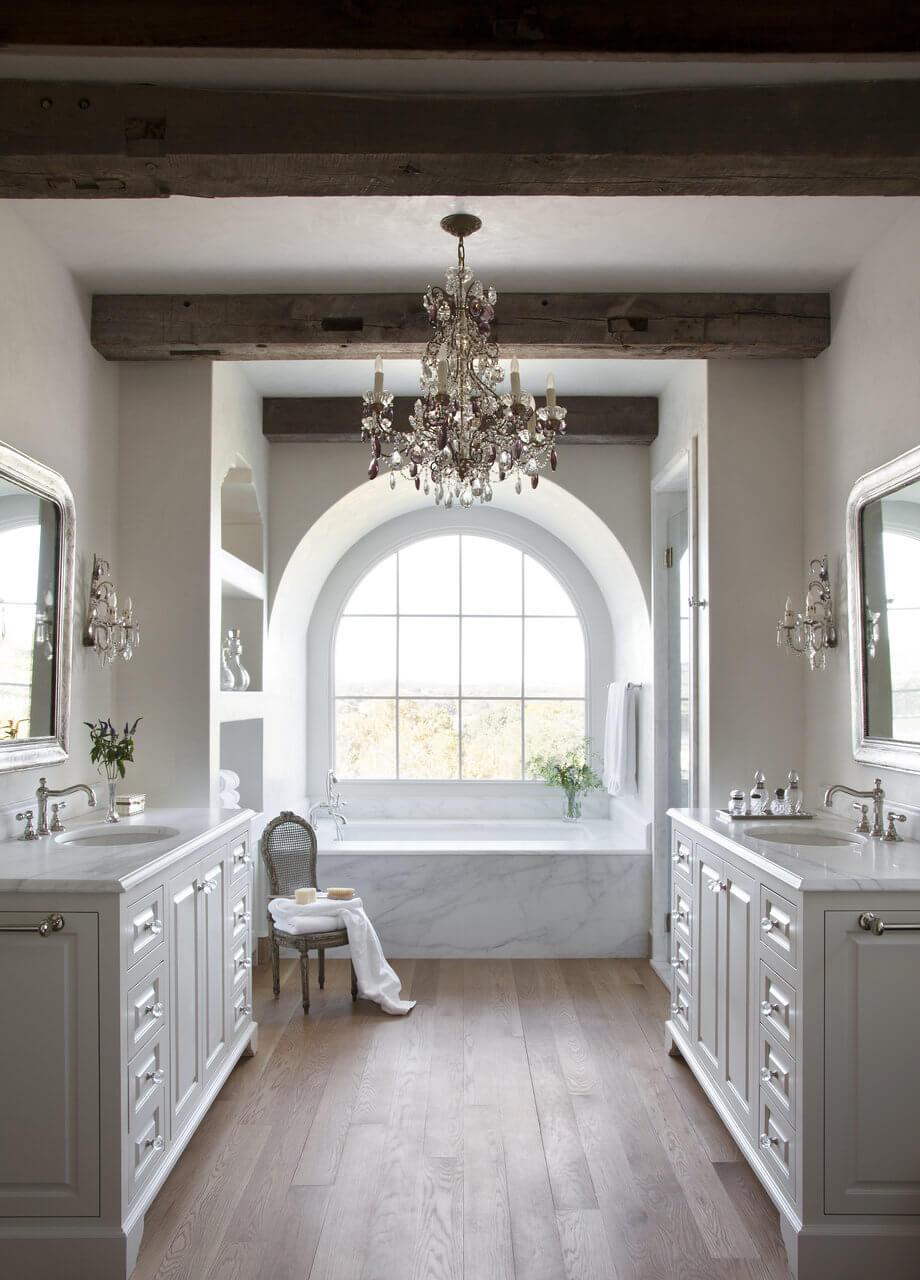 Romantic Getaway Inspired Bathroom
