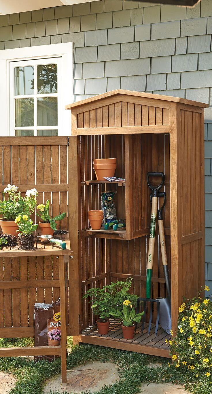 27 best small storage shed projects ideas and designs for Outdoor storage plans