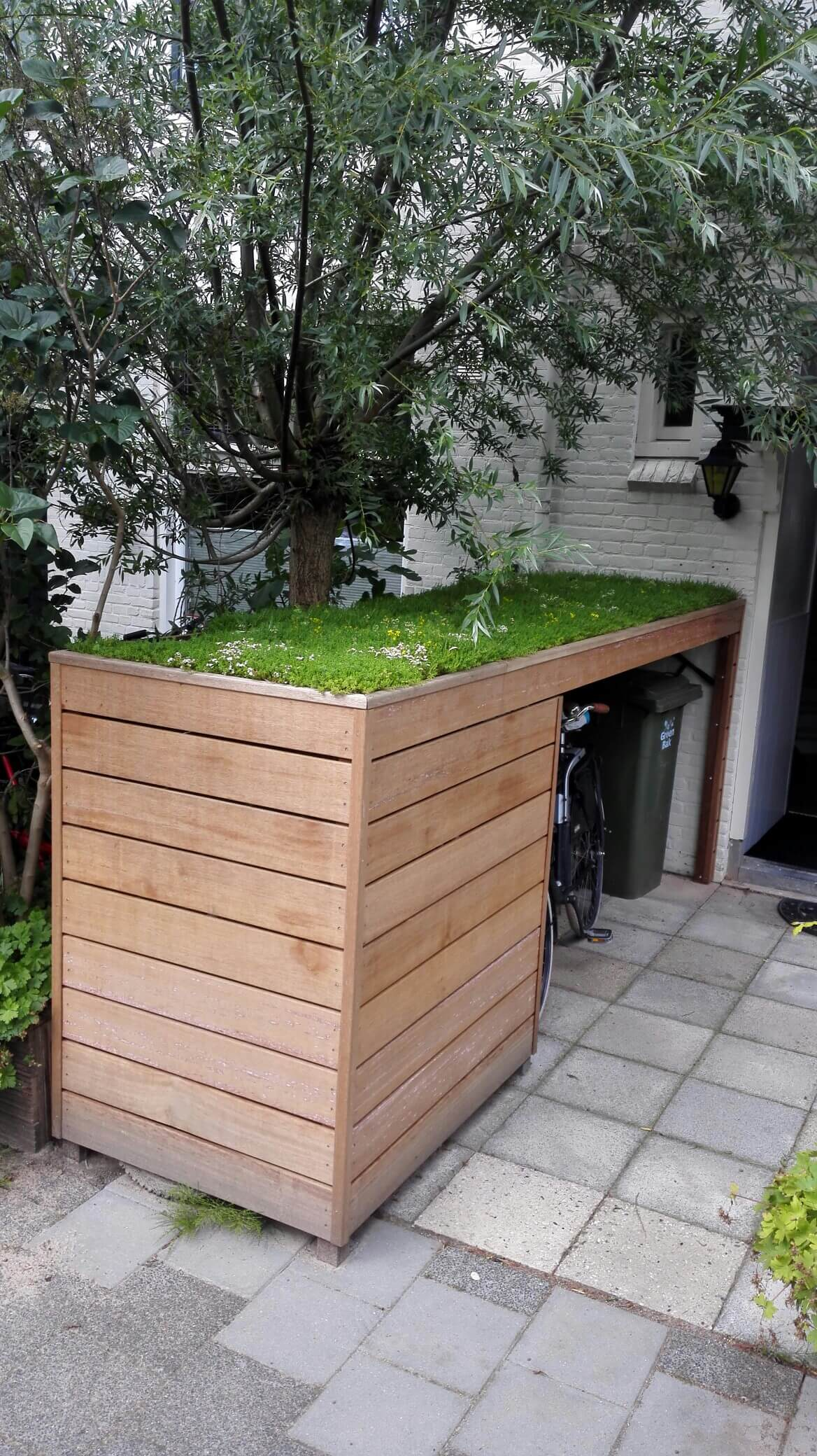 A Raised Planter With Hidden Storage
