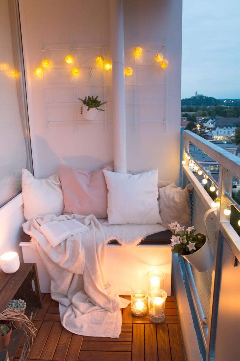 Little Balconies Crave Fun Lighting