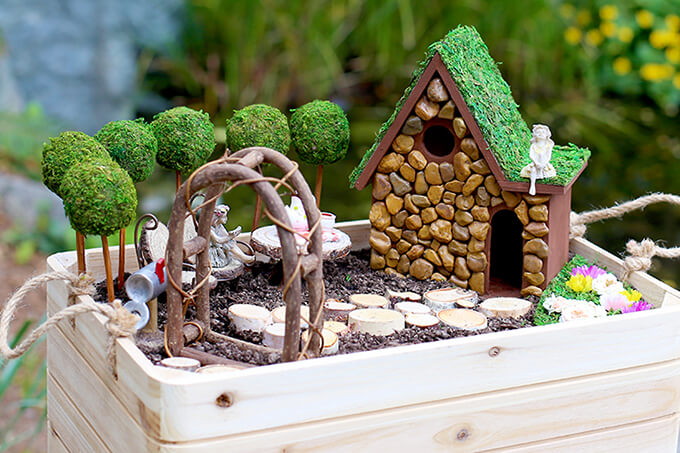 Primly Pacific Northwest Inspired Fairy Garden